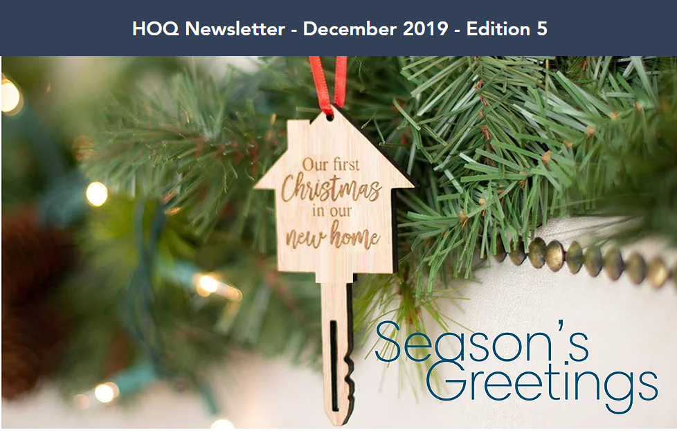 Christmas December Newsletter homes of quality issue 5