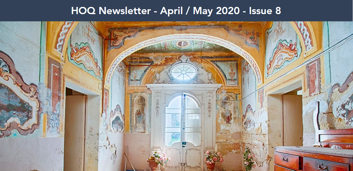 Homes of quality april newsletter 2020