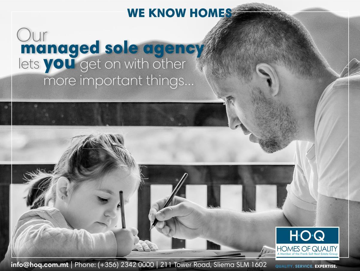 sole agency offer