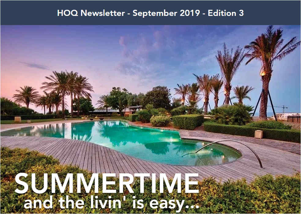 Summertime September Newsletter homes of quality issue 3