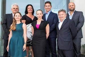 Homes Of Quality team: James Stagno Navarra, Josienne Degaetano, Grahame Salt, Ludwig Farrugia, Marie Claire Formosa, Marcelle Mercieca and Michael Dimbleby