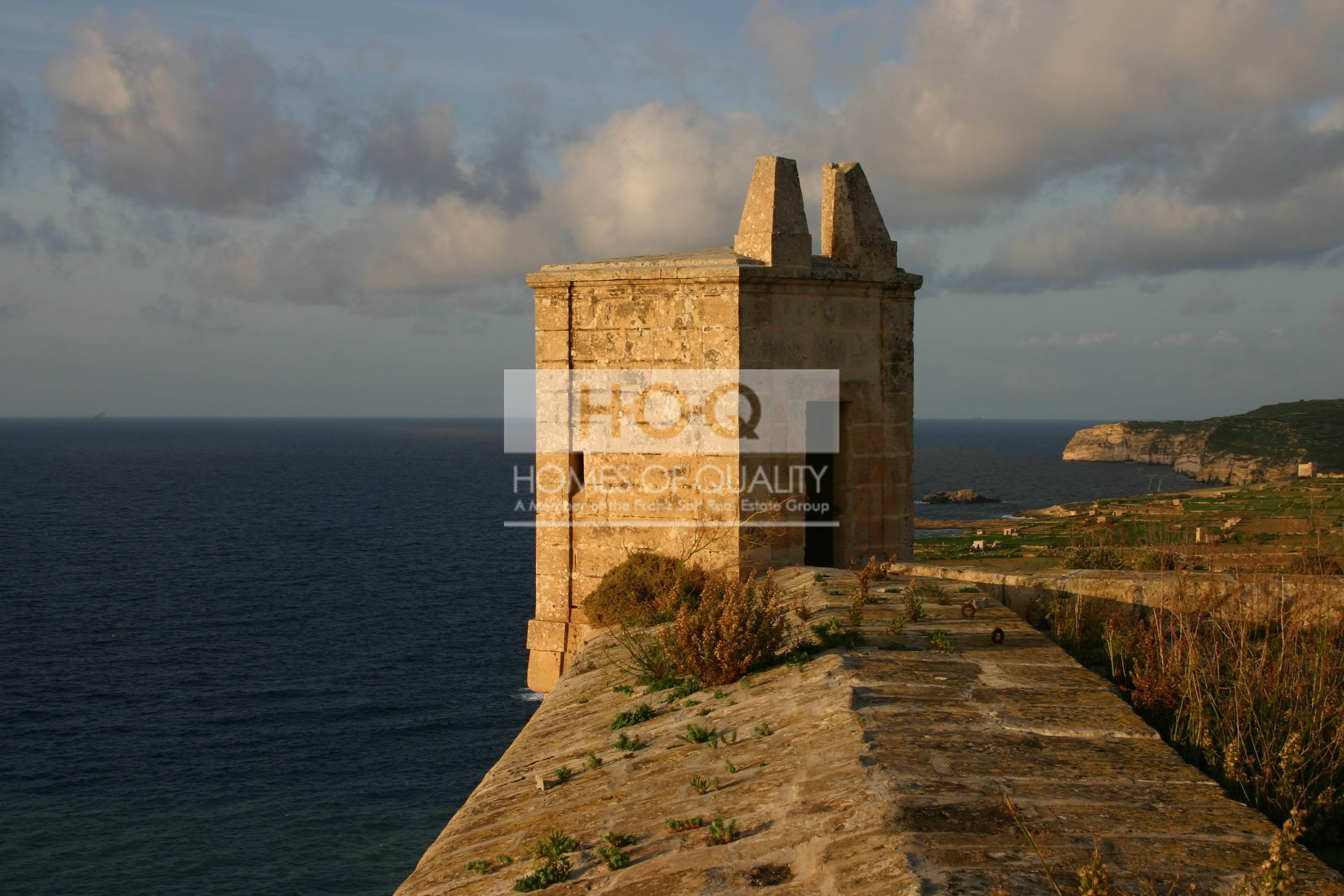 Gozo, Fort Chambray for Sale Malta